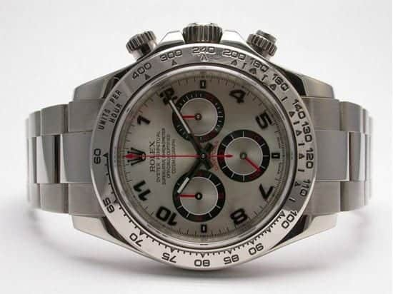 rolex, daytona, cosmograph, watch, 18kwg