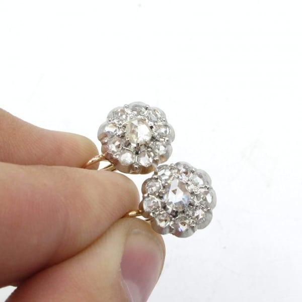 earrings, vintage