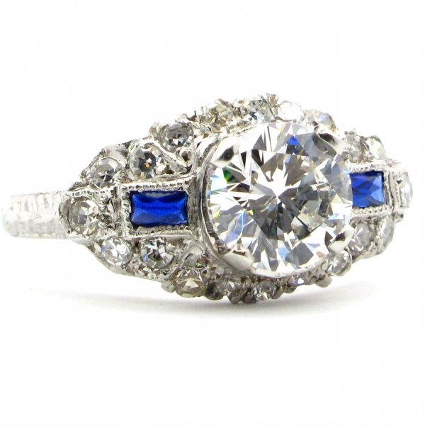 ring, diamond, sapphire, engagement ring