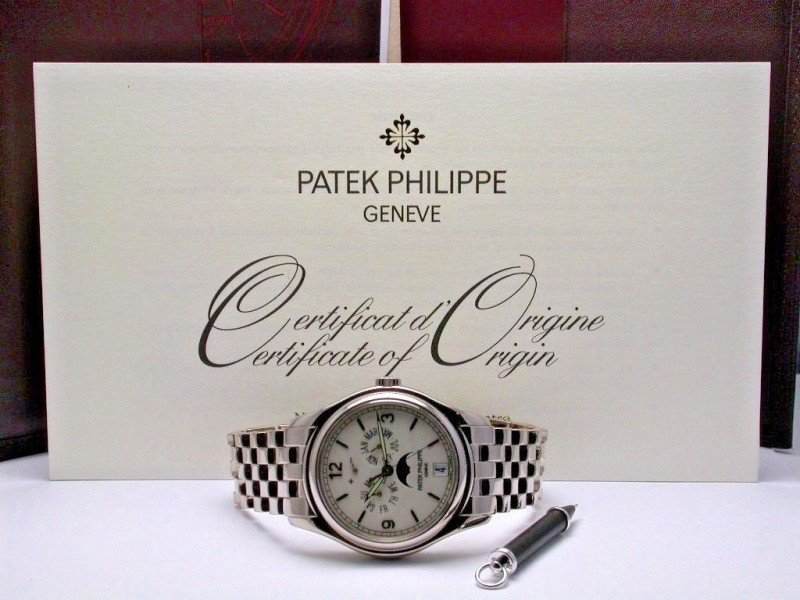 patek, 5146, patek philippe, annual calendar, 18kwg,