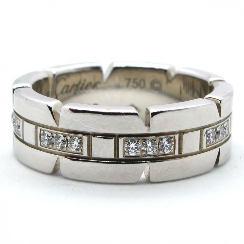 Cartier, Tank, Ring, Diamond