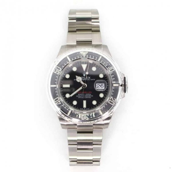Rolex, Sea Dweller, stainless, dive watch